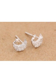 Moon Star Earrings 92.5 Sterling Silver