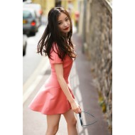 Playful Pink Dress With Pockets