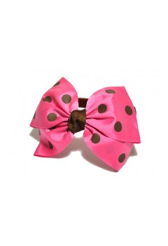 Big Ribbon Polka Hairband