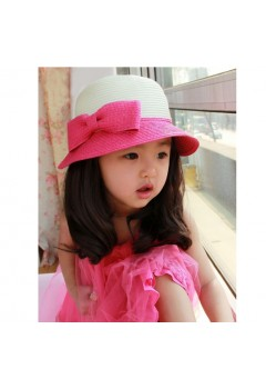 Lovely Pink Bow Hat