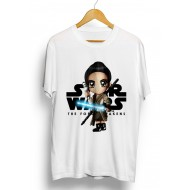 Rey w/ Light Saber Star Wars Chibi Shirt