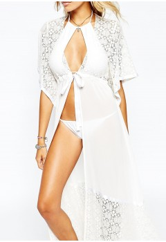 Sexy Lace Crochet Bikini Swimwear Cover Up