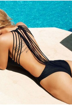 Sexy String Back One Piece Swimwear