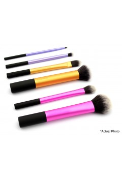 REAL TECHNIQUES 6 Pieces Professional Make Up Brushes ORIGINAL