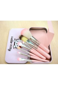 Hello Kitty 7pcs Makeup Brush Set