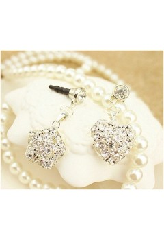 Crystal Heart and Star Charms
