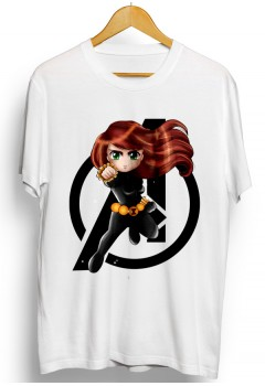 Black Widow Avengers Chibi Shirt