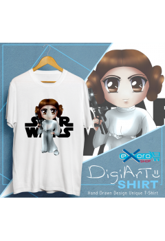 Princess Leia Star Wars Chibi Shirt