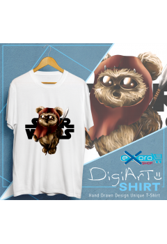 Ewok Star Wars Chibi Shirt