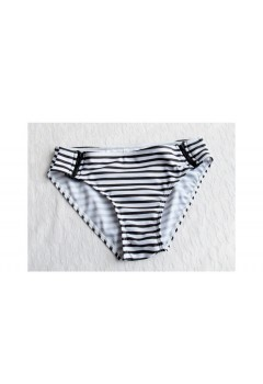 Lovely Pair Stripes Couple Swimwear