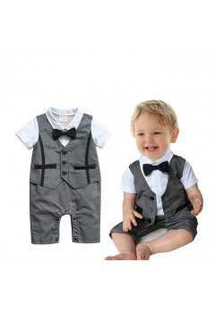 Tuxedo with Vest Baby Suit 2pc