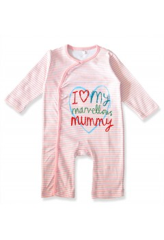 I Love My Mommy and Daddy Babysuit