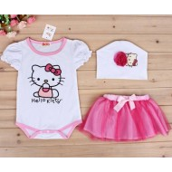 Hello Kitty Baby Dress Set 3pc