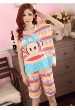 Stripes Animal PJ Set