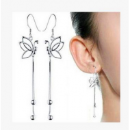 Butterfly Dangling Earrings 92.5 Sterling Silver