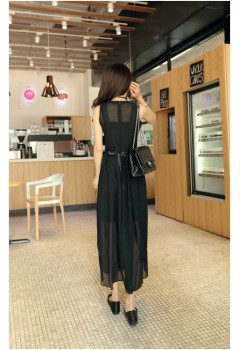 Modern Flowy 2pc Maxi Dress