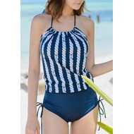 Sexy Nautical Anchor One Piece Swimwear
